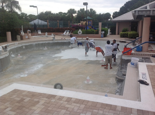 West Palm Beach Commercial Pool Renovation Aqua King